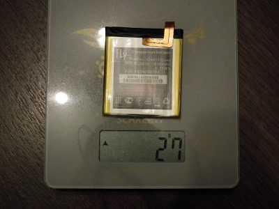 Вес аккумулятора BL3810