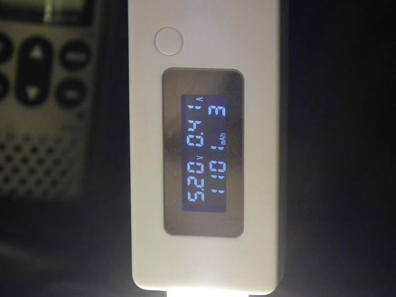 Потребление тока usb-лампой теплого свечения