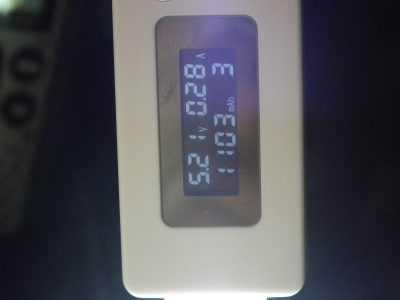 Потребление тока usb-лампой холодного свечения