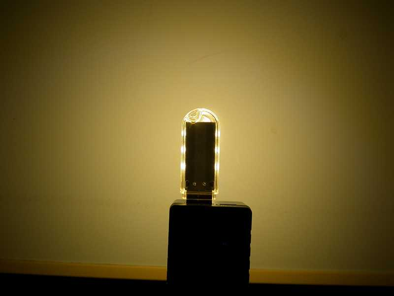 USB-лампа с теплым светом