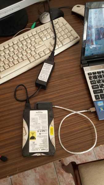 Контроллер USB SATA IDE