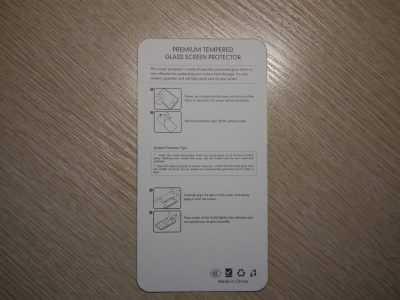 Инструкция по наклейке стекла Anrokey для Xiaomi Redmi 3S
