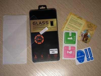 Комплект поставки защитного стекла Anrokey для Xiaomi Redmi 3S