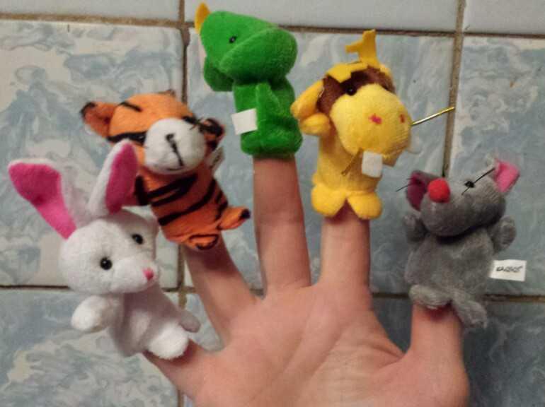 кукольные игрушки на пальчики