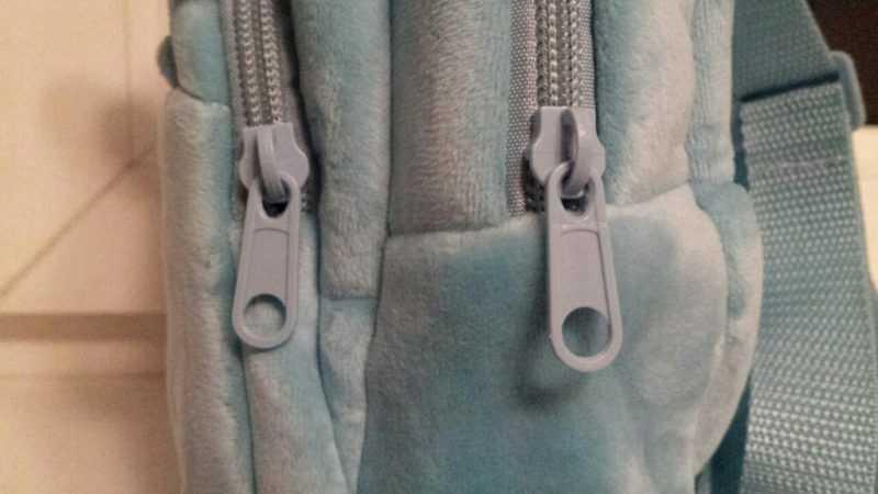 Детский плюшевый рюкзачок