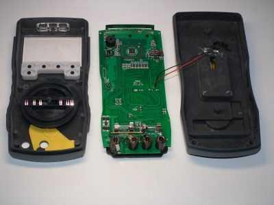 Внутренности мультиметра HoldPeak HP-890CN