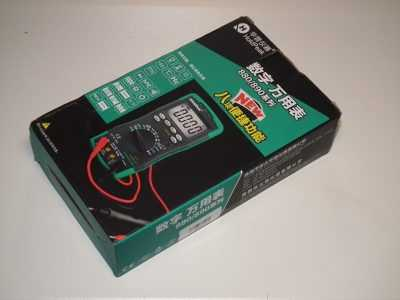 Коробка мультиметра HoldPeak HP-890CN