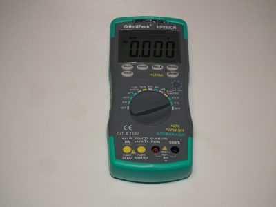 Мультиметр HoldPeak HP-890CN вид спереди