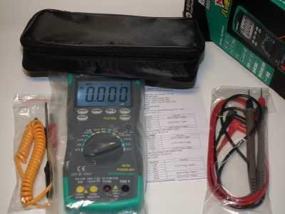 Мультиметр HoldPeak HP-890CN - комплектация