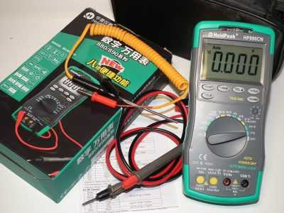 Мультиметр HoldPeak HP-890CN с платой версии 2.1