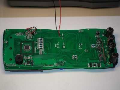 Плата версии 2.1 мультиметра HoldPeak HP-890CN с задней стороны