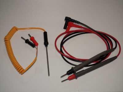 Шупы и термопара мультиметра HoldPeak HP-890CN