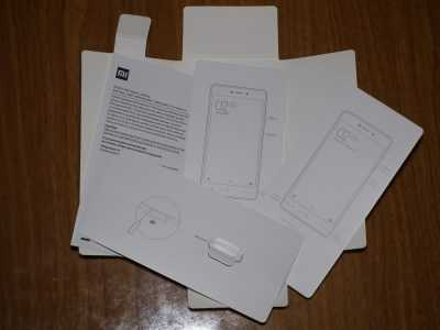 Документация Xiaomi Redmi 3s