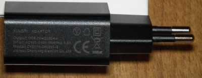 Зарядное устройство Xiaomi Redmi 3s