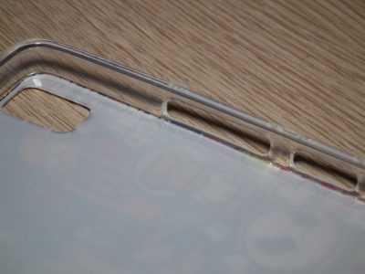 Отверстия для камеры и кнопок громкости в чехле Lenovo K3 Note