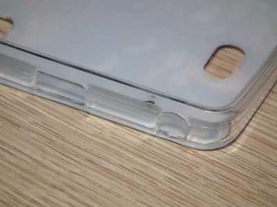 Отверстия под наушники и кабель usb в чехле Lenovo K3 Note