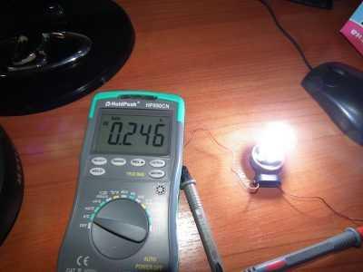 Сколько потребляет светодиодная лампочка H11