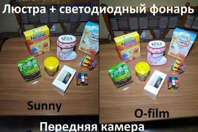 Сравнение камер Sunny и O-film на Xiaomi Redmi 3S