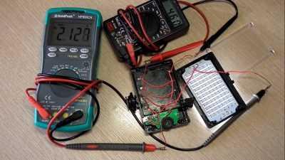 Ток потребления фонаря Ulanzi 96 LED от аккумуляторов АА