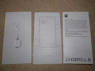 Документация Xiaomi Redmi Note 3 Special Edition