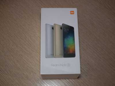 Коробка Xiaomi Redmi Note 3 Special Edition