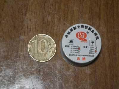Размер катушки с молибденовой проволокой