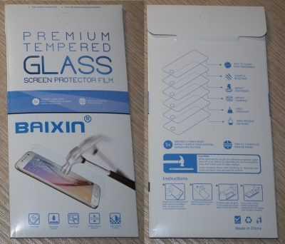 Упаковка закалённого стекла Baixin для Xiaomi Redmi 3S