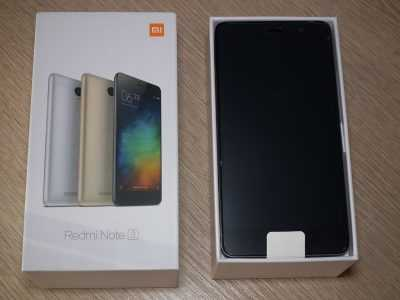 Xiaomi Redmi Note 3 Special Edition в коробке