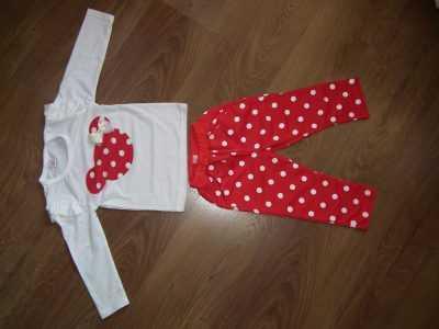 Детский костюм с Минни Маус спереди