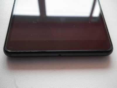 Защитное стекло для Sony Xperia С4 снизу
