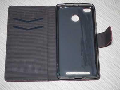 Красивый и элегантный чехол для Xiaomi Redmi 3S изнутри