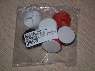 Набор держателей для проводов в пакетике