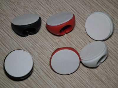 Набор органайзеров для проводов из 6 штук