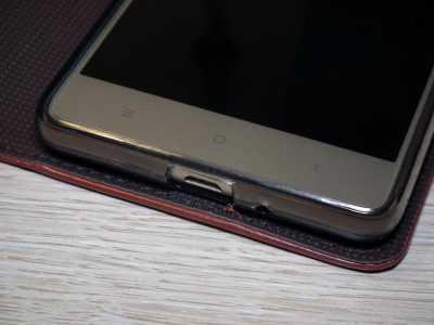 Смартфон Xiaomi Redmi 3S в красивом и элегантном чехле