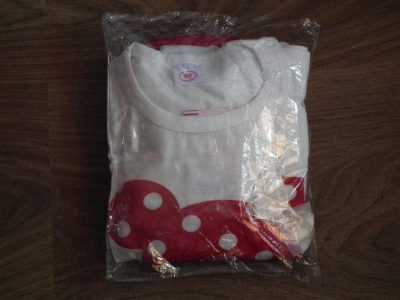 Упаковка детского костюма с Минни Маус