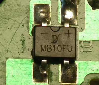 Диодный мост зарядника YIBO YUAN SS-C1