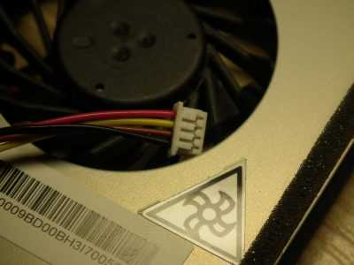 Разъём вентилятора для ноутбука Lenovo G570
