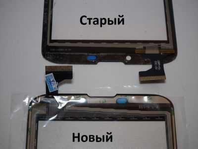 Сравнение сенсорных стёкол для Etuline ETL-S6022