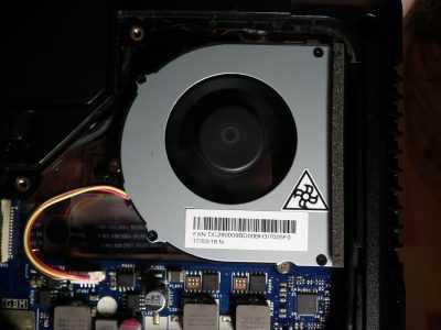 Установка вентилятора ноутбука Lenovo G570