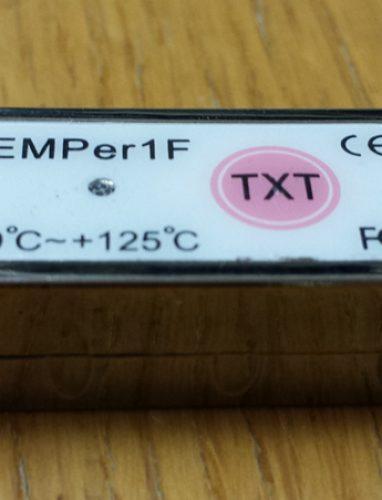 USB термометр