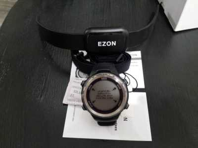 Спортивные часы с пульсометром Ezon T007